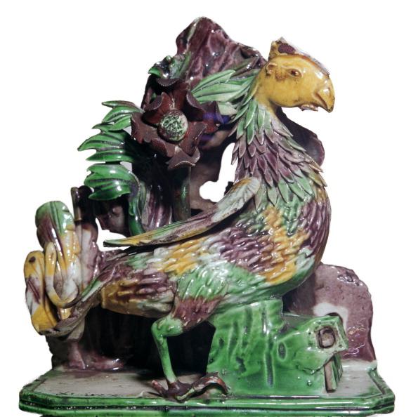 Ornamental Garden「Chinese porcelain of a phoenix in a rockery, 18th century.」:写真・画像(12)[壁紙.com]