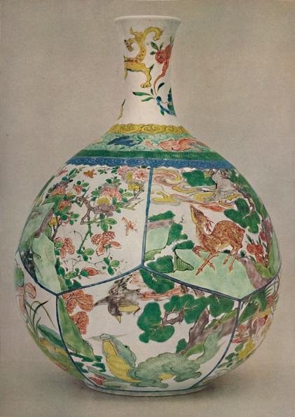Costume Jewelry「Chinese Porcelain Bottle In Enamel Famille Verte Period Of Kang His」:写真・画像(2)[壁紙.com]