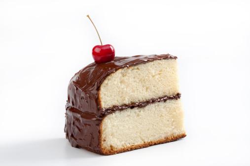 サクランボ「ケーキの部分」:スマホ壁紙(17)