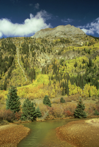 Uncompahgre National Forest「red creek, uncompahgre nf, colorado, usa」:スマホ壁紙(0)