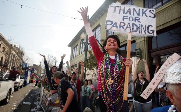 Recovery「New Orleans Celebrates Its First Mardi Gras Since Hurricane Katrina」:写真・画像(11)[壁紙.com]