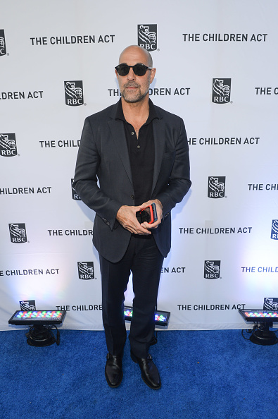 "Polo Shirt「RBC hosted ""The Children Act"" cocktail party at RBC House Toronto Film Festival 2017」:写真・画像(13)[壁紙.com]"
