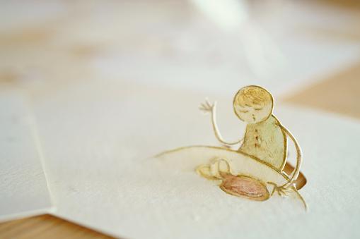 Paper Craft「Accident」:スマホ壁紙(15)