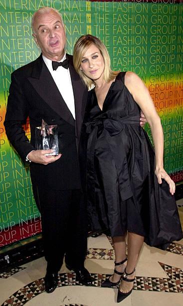 Manolo Blahnik and Sarah Jessica Parker at Fashion Group International:ニュース(壁紙.com)