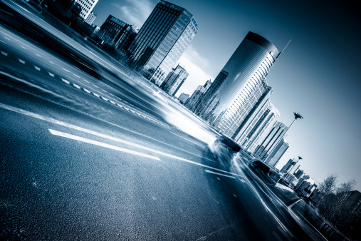 Building - Activity「traffic at city」:スマホ壁紙(18)