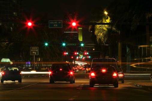 Boulevard「Traffic at night」:スマホ壁紙(3)