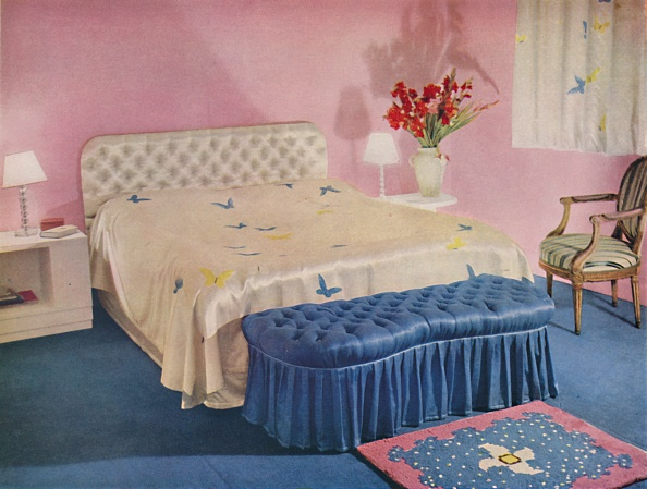 Girly「Bedroom Designed By Green And Abbott」:写真・画像(1)[壁紙.com]