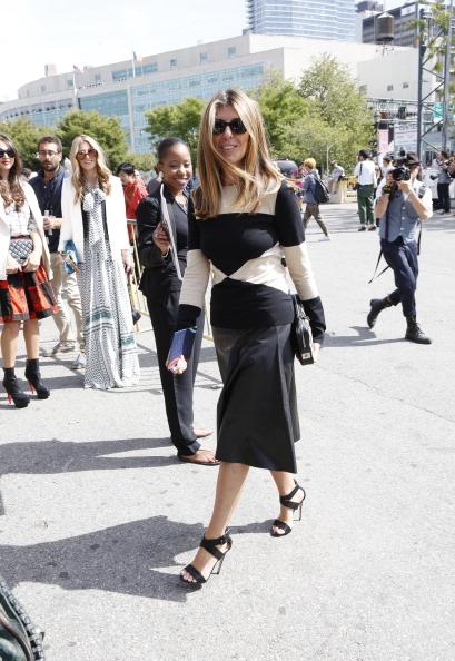 ニューヨークファッションウィーク「Tommy Hilfiger Women's - Backstage - Mercedes-Benz Fashion Week Spring 2014」:写真・画像(3)[壁紙.com]