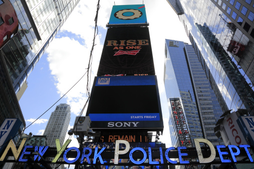Emergency Services Occupation「Times Square」:スマホ壁紙(3)