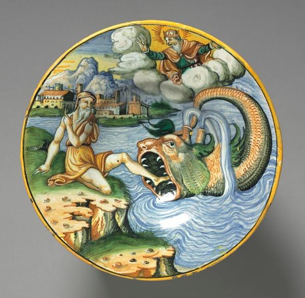 Crockery「Plate Depicting Jonah」:写真・画像(8)[壁紙.com]