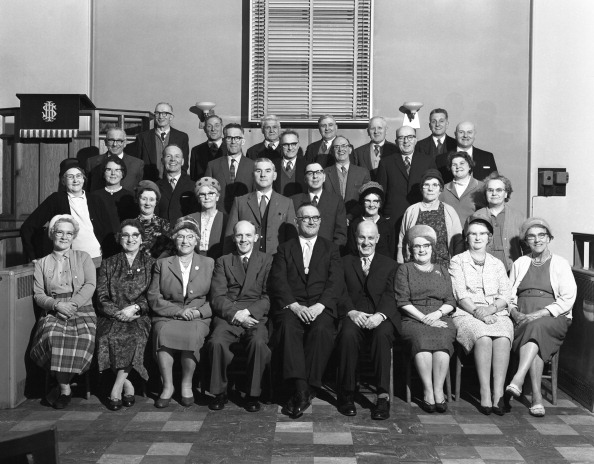 Methodist「A Wesleyan church conference group from the South Yorkshire town of Mexborough, 1963. Artist: Michael Walters」:写真・画像(5)[壁紙.com]