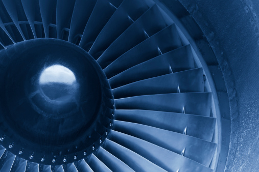Blade「Close up shot of aircraft jet engine turbine」:スマホ壁紙(0)