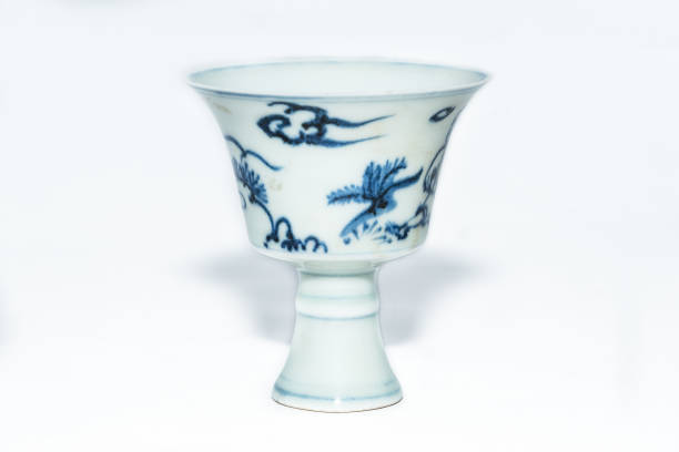 Blue And White Stem Cup With Two Scholars In Landscape 2nd Half 15th Century:ニュース(壁紙.com)