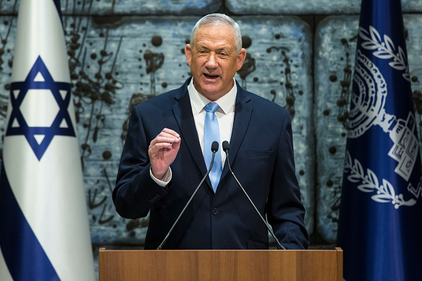 Blue「Benny Gantz Receives Mandate To Form A Government」:写真・画像(14)[壁紙.com]