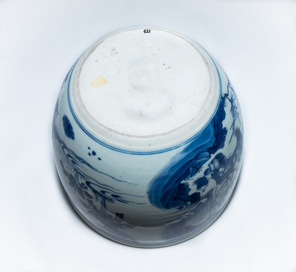 Rock - Object「Deep Blue And White Fish Bowl Of Sages In Bamboo Grove 1630-1650」:写真・画像(10)[壁紙.com]