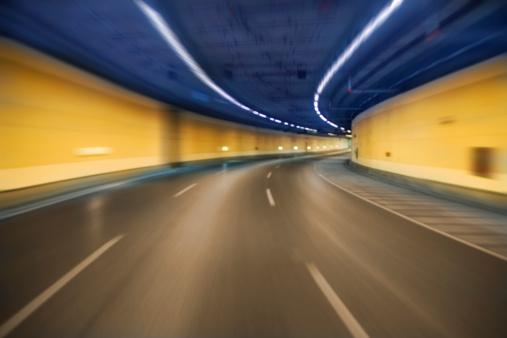 Beijing「Tunnel with speed motion effect」:スマホ壁紙(11)