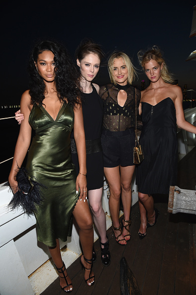 エリン・ヘザートン「All Aboard! W Hotels Toasts The Upcoming Opening Of W Amsterdam With 'Captains' Taylor Schilling, Erin Heatherton, Chanel Iman, Coco Rocha And More On The Grand Banks」:写真・画像(2)[壁紙.com]