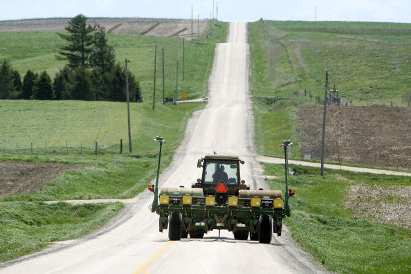 Tractor「Farmers Plant Corn To Take Advantage Of Prices Driven Up By Ethanol」:写真・画像(15)[壁紙.com]