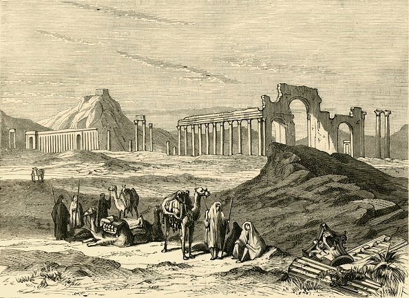 Architecture「Ruins Of Palmyra」:写真・画像(1)[壁紙.com]