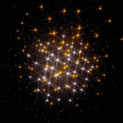 Glittering「Twinkling cluster of lights, digitally generated」:スマホ壁紙(17)