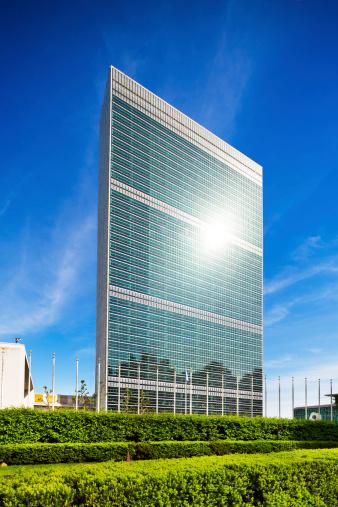 United Nations Building「UN Building in Manhattan, New York」:スマホ壁紙(17)