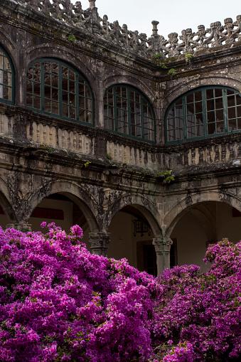Camino De Santiago「Building in Santiago de Compostela, Spain」:スマホ壁紙(19)