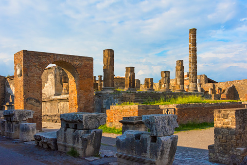 UNESCO「Ruins of Pompeii, the Forum, UNESCO World Heritage Site, Province of Naples, Campania Region, Italy」:スマホ壁紙(19)