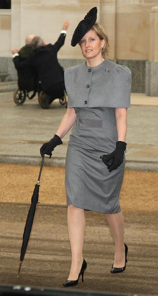 Sophie Rhys-Jones - Countess of Wessex「The Queen Unveils The New Statue Of Queen Elizabeth, The Queen Mother」:写真・画像(7)[壁紙.com]