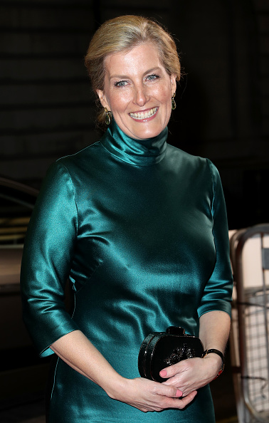 """Sophie Rhys-Jones - Countess of Wessex「The Countess Of Wessex Attends The """"Sulphur And White"""" Premiere」:写真・画像(8)[壁紙.com]"""