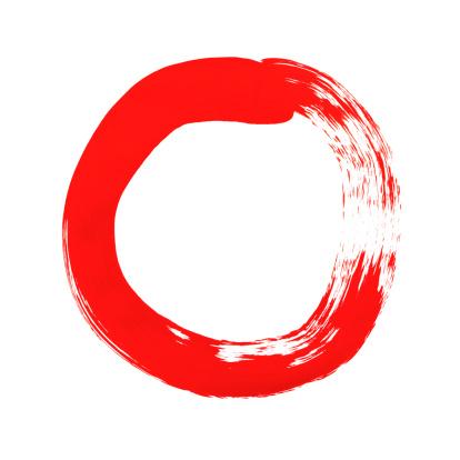 Brush Stroke「Paint Circle」:スマホ壁紙(17)