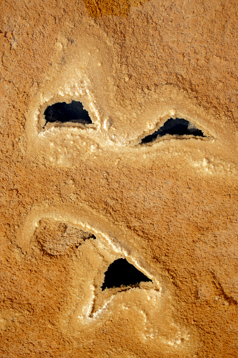 Abstract「Saltworks in Salinas de Imon, Guadalajara, Castilla la Mancha, Spain」:スマホ壁紙(17)