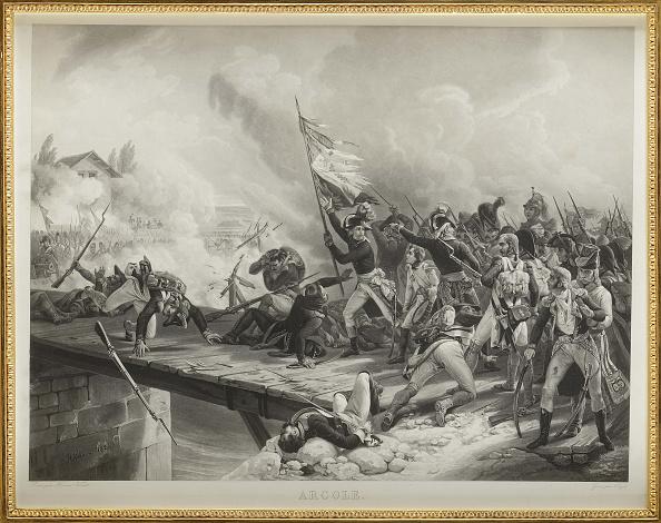 Lithograph「Napoleon Bonaparte At The Pont Darcole.」:写真・画像(19)[壁紙.com]