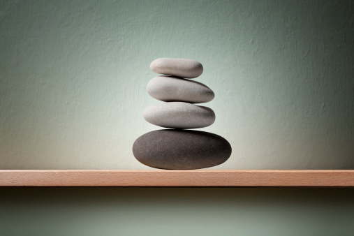 Balance「Balanced pebbles」:スマホ壁紙(17)