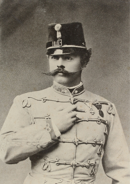 1880-1889「Officer Of The K.U.K. Army In Hussar Uniform」:写真・画像(9)[壁紙.com]