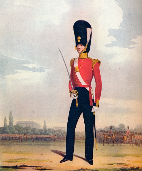 Rug「Officer of the 87th (or Royal Irish) Fusiliers, c1833. (1914).」:写真・画像(9)[壁紙.com]