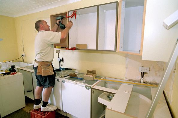 Kitchen「Kitchen installation」:写真・画像(17)[壁紙.com]