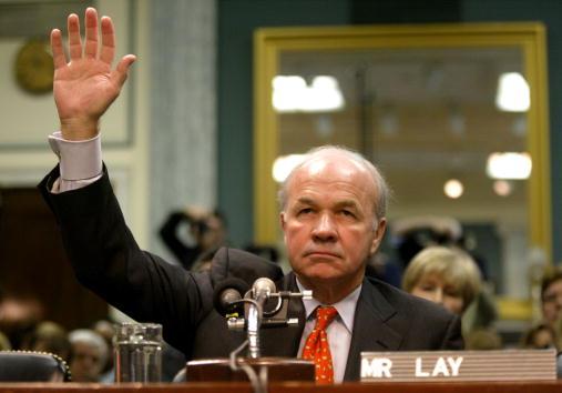 Enron「Former Enron Chairman Kenneth Lay Swears In」:写真・画像(14)[壁紙.com]
