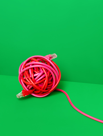 Cable「Wire Ball」:スマホ壁紙(16)