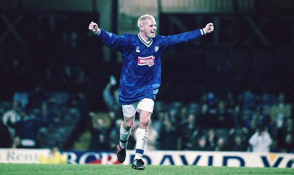 Leicester「Paul Gascoigne Leicester City 1997」:写真・画像(10)[壁紙.com]