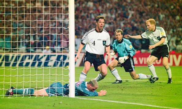 Germany「1996 UEFA European Championships England v Germany」:写真・画像(14)[壁紙.com]
