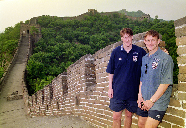 European Football Championship「Darren Anderton and Teddy Sherringham England Tour to Great Wall of China」:写真・画像(14)[壁紙.com]