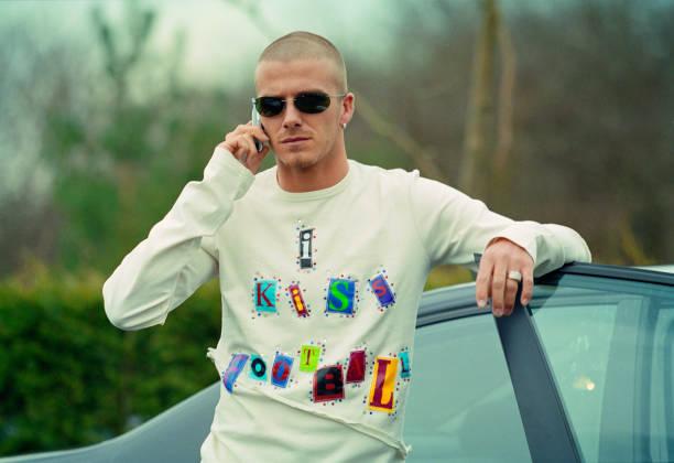David Beckham Adidas Launch 2001:ニュース(壁紙.com)