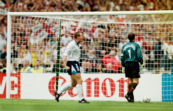 Best shot「1996 UEFA European Championships Quarter Final England v Spain」:写真・画像(8)[壁紙.com]