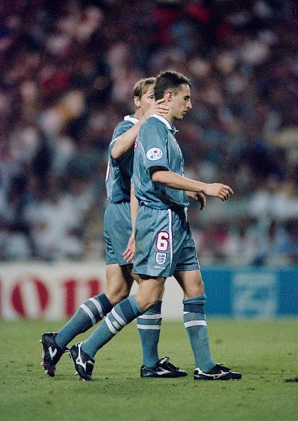 England「England player Gareth Southgate Penalty Miss 1996 European Championships v Germany」:写真・画像(19)[壁紙.com]