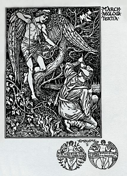 カレンダー「The Shepheards Calendar - March 1898」:写真・画像(5)[壁紙.com]