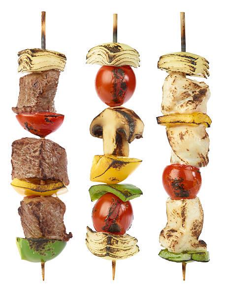 Grilled kebabs:スマホ壁紙(壁紙.com)