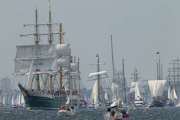 キール「'Windjammer' Tall Ships Parade In Kiel」:写真・画像(16)[壁紙.com]