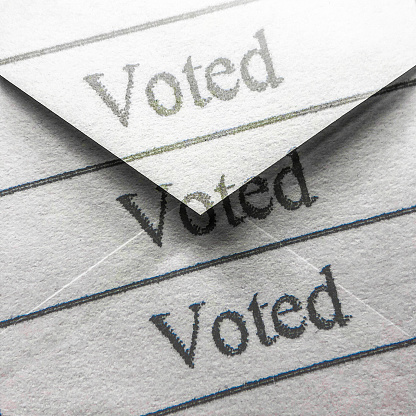 Voting Ballot「Voting by mail」:スマホ壁紙(19)
