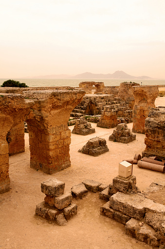 Roman「Tunisia, Archaeological Site of Carthage」:スマホ壁紙(1)