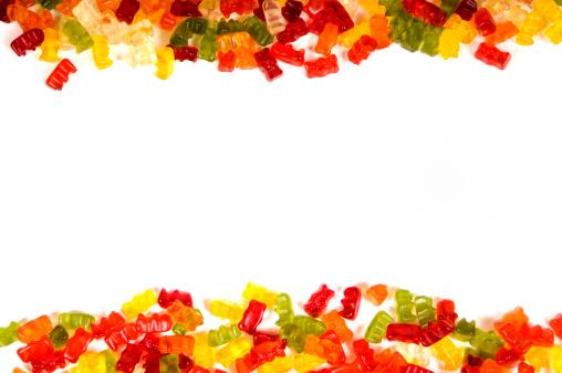 グミ・キャンディー「Gummybear 背景」:スマホ壁紙(9)